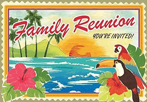 invite folded family reunion