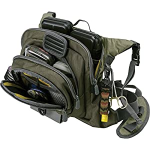 Allen Company Boulder Creek Fishing Chest Pack, Olive
