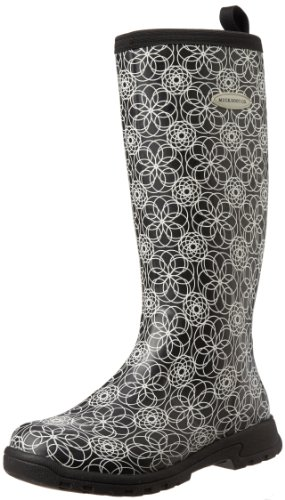MuckBoots Women's Breezy Tall Rain Boot,Swirl Print,5 M US