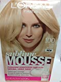 L'oreal Sublime Mousse By Healthy Look Hair Color ( Ultra Light Blonde #100 )New
