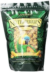 Lafeber Company Tropical Fruit Nutri-Berries for Parrots, 3-Pound