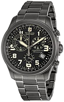 Victorinox Swiss Army Men's 241289 Infantry Vintage Chronograph Black Dial Watch from Victorinox Swiss Army