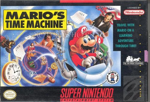 Mario'S Time Machine front-323710