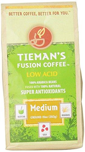 Tieman'S Fusion Coffees, Medium Fusion (Ground), 10-Ounce Bag