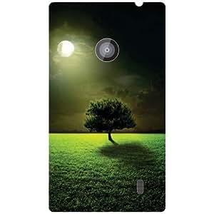 Nokia Lumia 520 Back Cover - Greenery Designer Cases
