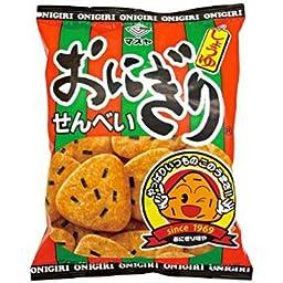 Masuya Japan onigiri rice crackers 108g x 12 bags