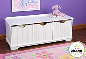 Kidkraft Nantucket Storage Bench from KidKraft