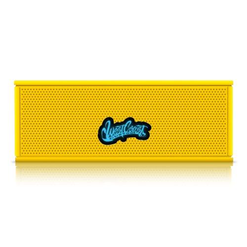 West Coast Customs Portable Wireless Bluetooth Speaker. Bulit In Speakerphone And 8Hr Battery. (Yellow)