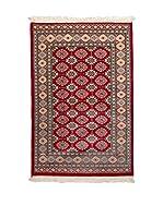 Navaei & Co. Alfombra Kashmir Rojo/Multicolor 121 x 77 cm