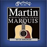Martin SP Marquis 80/20 Acoustic Guitar Strings - Bronze Wound / Hand Silked (Light, .012 - .054)