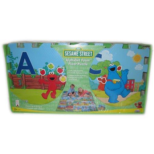 Cheap Verdes Toy Corp Sesame Street Alphabet Foam Floor Puzzle  Elmo, Zoey, Big Bird, Ernie, Bert, Cookie Monster (B002SHPCCY)