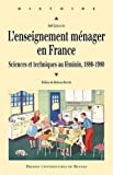 img - for L' enseignement menager en France book / textbook / text book
