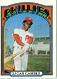 1972 Topps Baseball Card #423 Oscar Gamble ENCASED