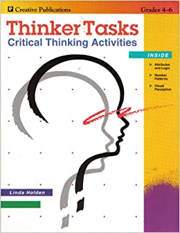 thinker tasks critical thinking activities