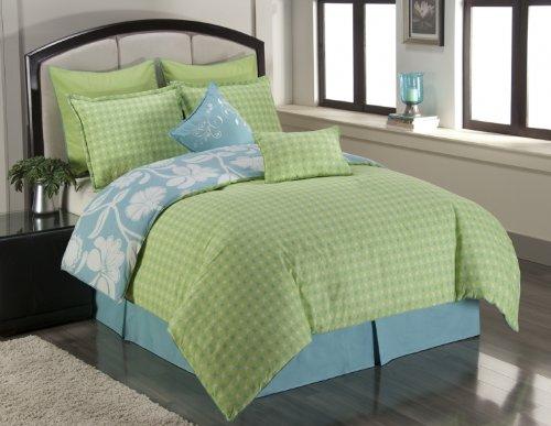 blue and green bedding. Black Bedroom Furniture Sets. Home Design Ideas