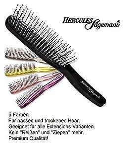 Rotschopf24 Edition: Hercules Sägemann SCALP BROSSE pinceau magique. Cette brosse démêlante vous fascinera ! - boue