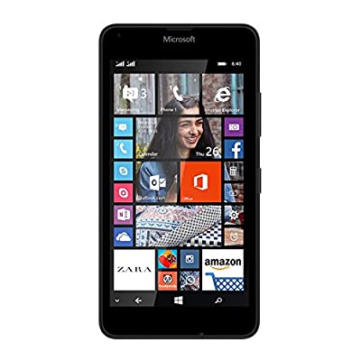 Refurbished Microsoft Lumia 640 (Black, 8GB)