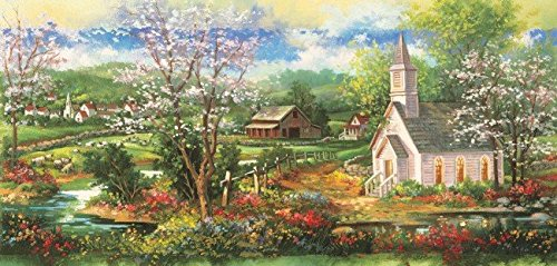 Little White Church 1000 Piece Jigsaw Puzzle by Sunsout Inc.