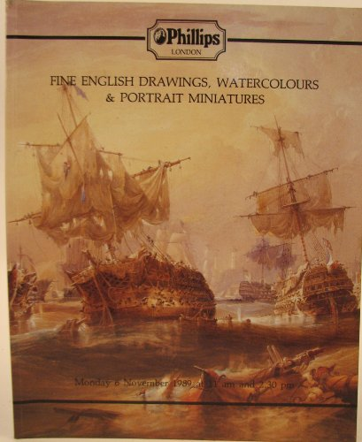 Fine English Drawings, Watercolours And Portrait Miniatures