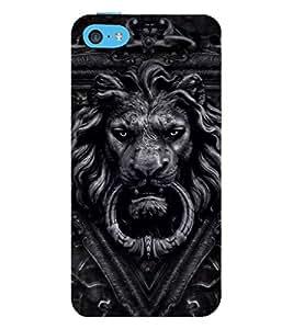 EPICCASE Lion Gate Mobile Back Case Cover For Apple iPhone 5c (Designer Case)