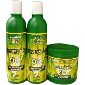 Amazon.com : BOE Crece Pelo 3 in 1 Combo Set!!! : Shampoo And