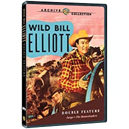 Wild Bill Elliot Western Double Feature