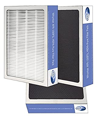 Whynter AFR-425-FILTER Eco-Pure HEPA System Air Purifier and Activated Carbon Filter Replacement