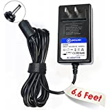 T-Power ( 6.6ft Long Cable ) AC Adapter Charger AC / DC FOR Sandisk Velocity Micro Cruz Ereader R101 R102 R103 7-inch Android Color Ebook Reader Tablet Pc Pad Spare replacement power supply cord