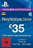 PlayStation Store Guthaben-Aufstockung 35 EUR [PS4, PS3, PS Vita PSN Code - deutsches Konto]