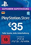 PlayStation Network Card - 35 EUR (für deutsche PSN-Konten) [PSN Code]