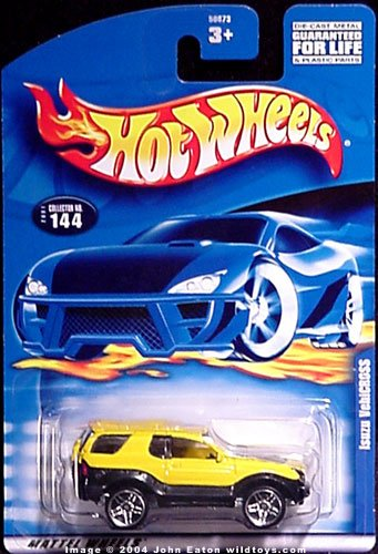 Hot Wheels: Isuzu Vehicross, Collector Number 144
