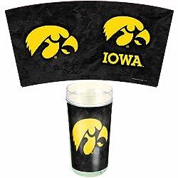 NCAA Iowa Hawkeyes 24-Ounce 2-Pack Tumblers
