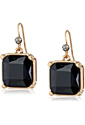 Kenneth Cole New York Square Faceted Bead Drop Earrings