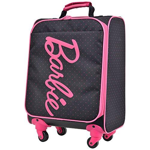 キャリーケース バービー シャノンTR スーツケース かわいい 機内持ち込み可 軽量 Barbie ソフトタイプ 4輪 24L 日帰り 1日用 42cm SSサイズ 45008