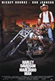 HARLEY DAVIDSON & MARLBORO MAN POSTER (68,5cm x 101,5cm) + 1 pack tesa powerstrips®, 20 pieces