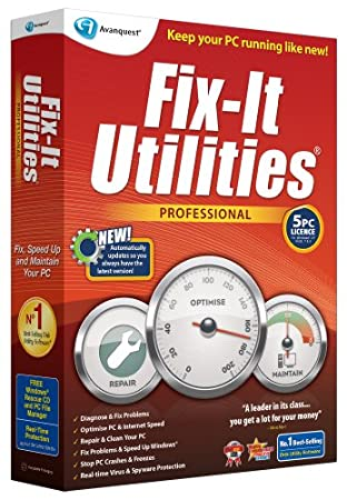 Fix-It Utilities Professional (PC)