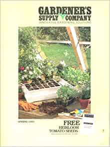 Gardener 39 s supply company spring 1991 catalog innovative for Gardeners supply company