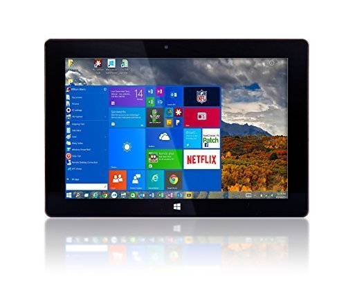 "10"" Windows 10 by Fusion5 Ultra Slim Design Windows Tablet PC – 32GB Storage, 2GB RAM – Complete with Touch Screen, Dual Camera, Bluetooth Tablet PC"