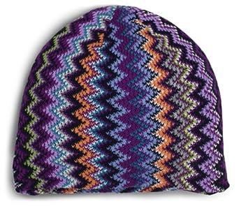 Dearfoams Women's Skull Cap, Cool Zig-Zag, One Size