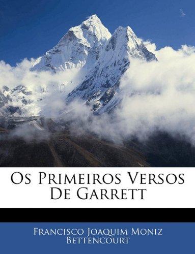 Os Primeiros Versos De Garrett
