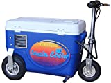 Cruzin Cooler Electric Scooter Cooler, Blue, 1000 W