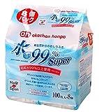 水99% Super 新生児からのおしりふき 100枚×8個 ランキングお取り寄せ