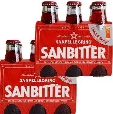 12x 98 ml Sanbitter, rot, ohne Alkohol