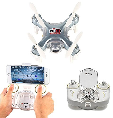 Successory Cheerson CX-10WD-TX Edition with Remote Control 4CH 2.4GHz 6 Axis Gyro FPV Wifi Remote Control RC Real-time Video Fixed-height Mini Drone