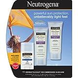 Neutrogena Ultra Sheer Dry-Touch Sunscreen, SPF 55, 3 Ounce 2PK + Ultra Sheer Face & Body Stick SPF 70 1PK ,Neutrogena-cbsg