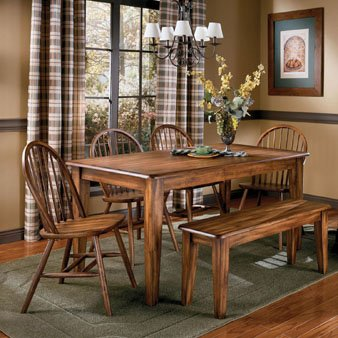 Market Square Boyne 5 Piece 36x60 Table Dining Set