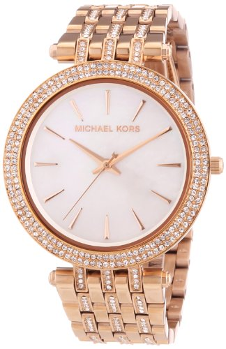Michael Kors MK3220 39mm Rose Gold Steel Bracelet & Case Women's Watch
