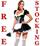 Forever Young French Maid Fancy Dress...