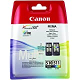 Canon PG510-CL511 Ink Cartridges Value Pack - Black