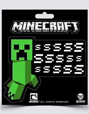 Minecraft Creeper Ssssss Sticker from Jinx